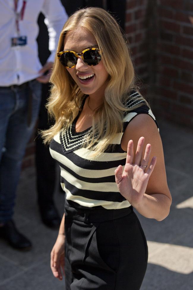 Foto de Scarlett Johansson llegó al Festival de Venecia (7/9)