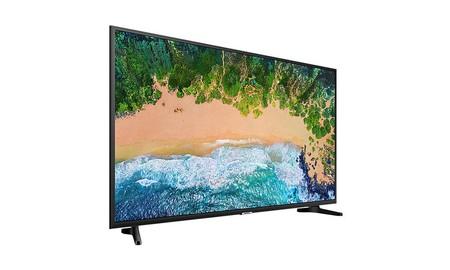 Más baratas todavía, la Samsung UE50NU7092 ahora se quedan en sólo 379,99 euros en eBay
