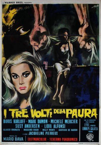 Añorando estrenos: 'Las tres caras del miedo' de Mario Bava
