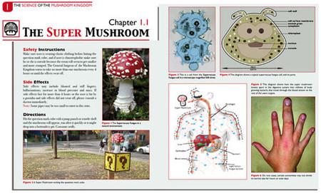 La enciclopedia de ciencias naturales del Reino Champiñón