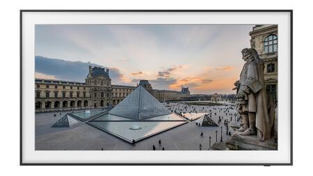 El televisor The Frame de Samsung tendrá acceso a 40 obras del Museo del Louvre: podrás tener la Mona Lisa en el salón de casa
