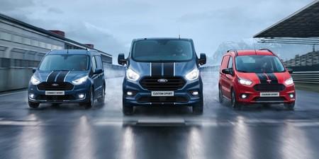 El Ford Transit Sport tiene corazón de Focus ST para llegar sonriendo al trabajo
