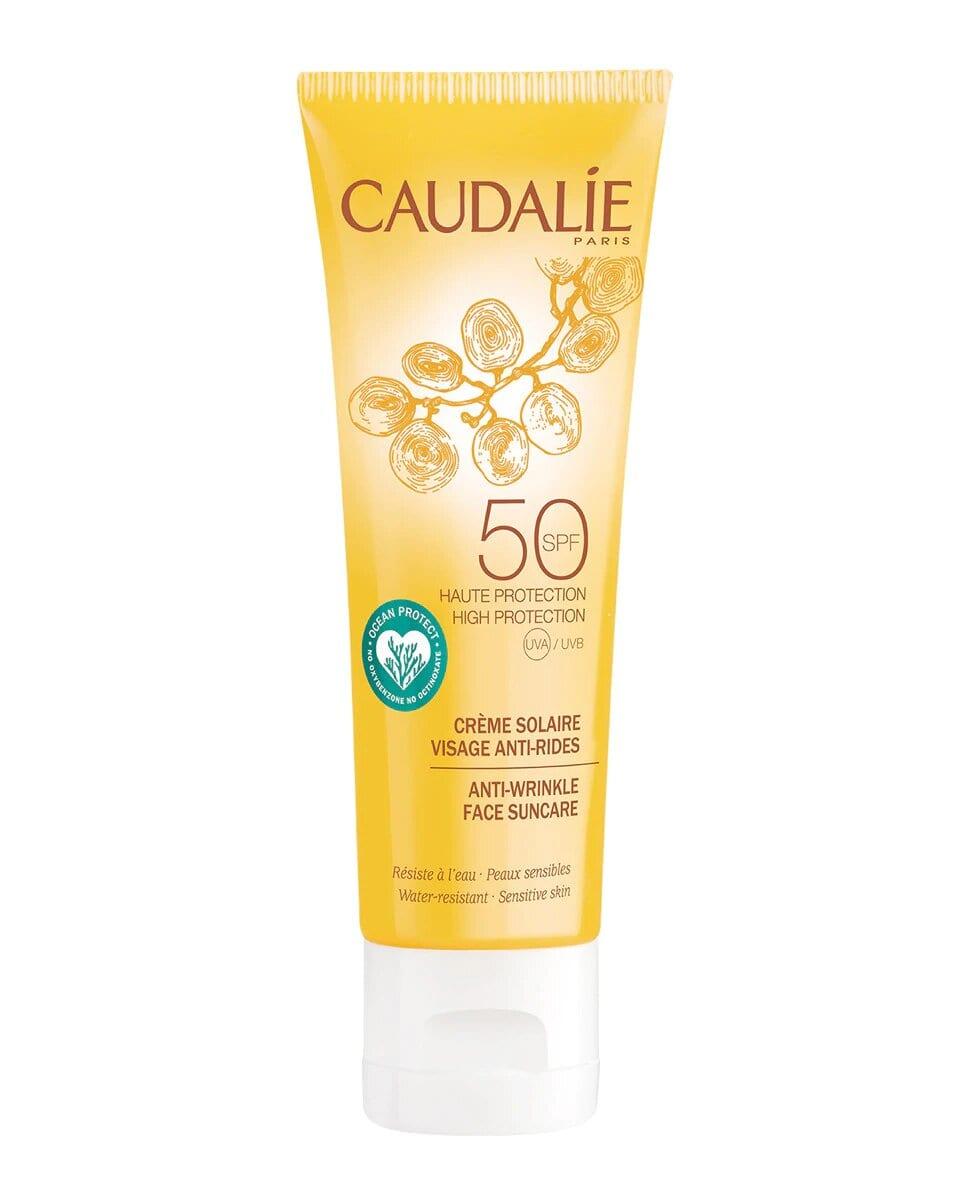 Crema Solar Facial Antiarrugas SPF 50