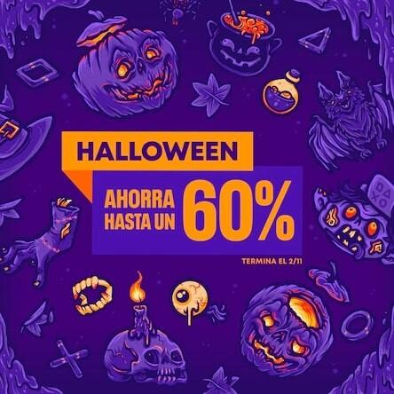 Venta especial de Halloween de PlayStation Store