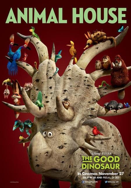 Y otro cartel más de El Viaje de Arlo (The Good Dinosaur)