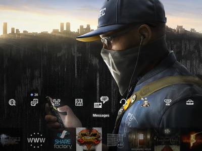 Celebra el lanzamiento de Watch Dogs 2 descargando gratis su tema dinámico para PS4