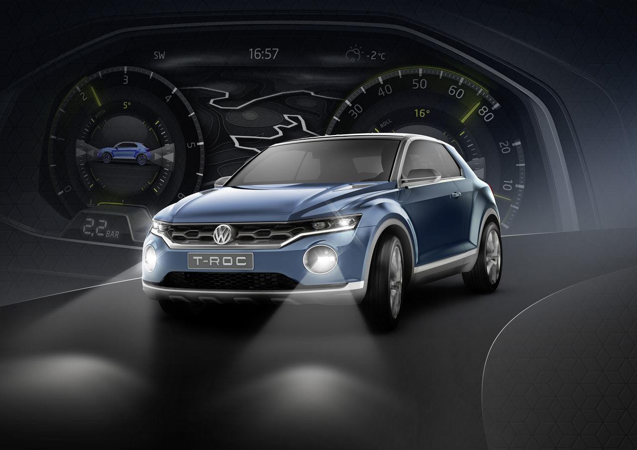 Foto de Volkswagen T-ROC Concept (12/22)