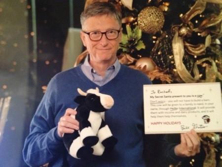 Bill Gates, el amigo invisible de Reddit. La imagen de la semana