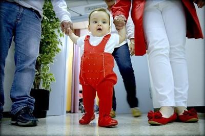 [Vídeo] Operación pionera a un feto por una obstrucción en la laringe