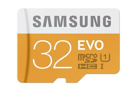 MicroSD de 32GB, Clase UHS-I, Samsung Evo por sólo 8,45 euros y envío gratis con este cupón