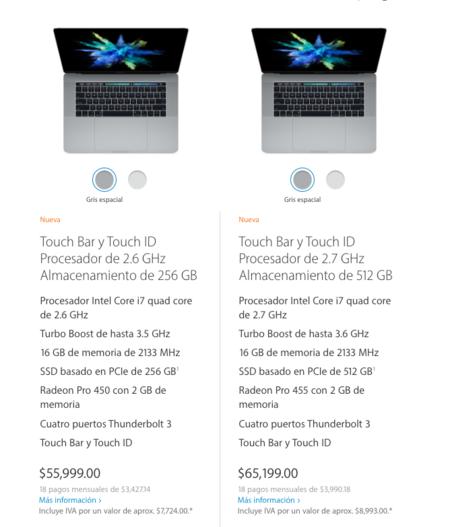 Nueva Macbook Pro 15 Pulgadas Precio Mexico