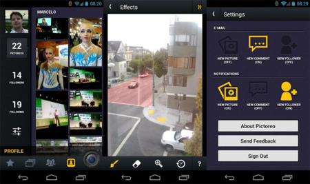 Pictoreo para Android