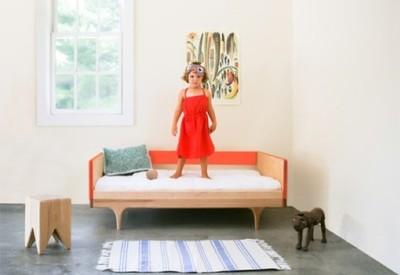 Sofá y cama para niños, dos en uno