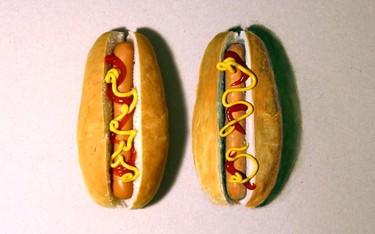 ¿Sabríais distinguir el alimento falso del verdadero?