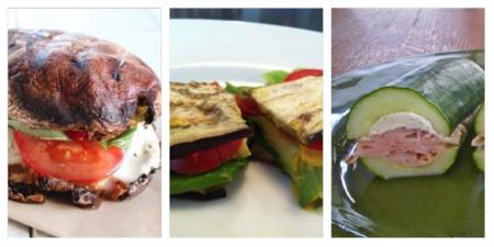 3 sandwiches sin pan (low carbs)