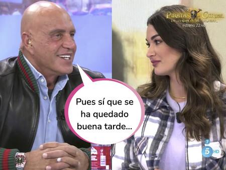El brutal zasca de Estela Grande a Kiko Matamoros al ser preguntada por los papeles de su divorcio con Diego