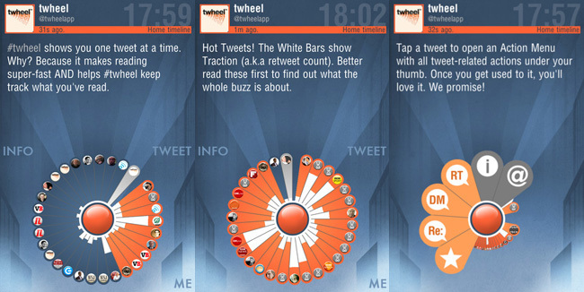 Cliente twitter - twheel