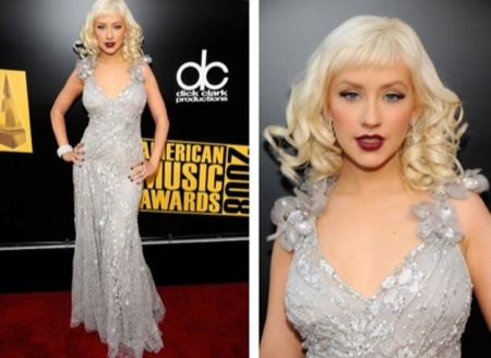 Christina Aguilera American Music Awards 2008