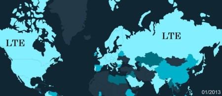 LTE dará cobertura a más de la mitad de la población mundial en 5 años