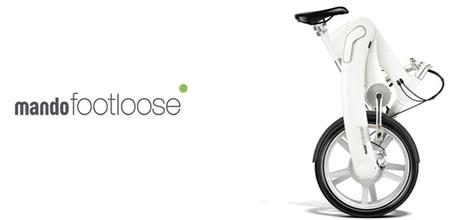 Mando Footloose: una interesante bicicleta eléctrica plegable