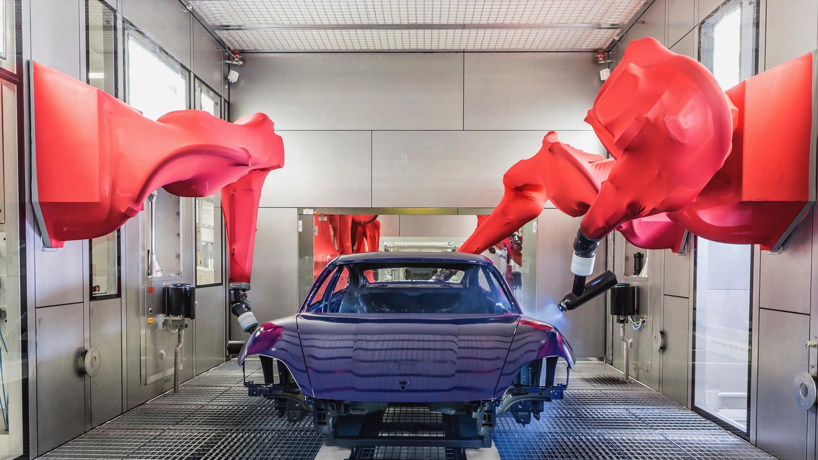 Foto de Fábrica Porsche Taycan (inauguración) (15/44)