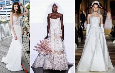 Tendencias Bridal Ss 2020 Tirantes Finos