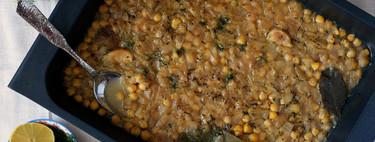 Garbanzos cocinados al horno al estilo griego: receta de cuchara para la que no necesitas la olla