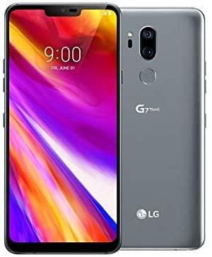 LG G7 ThinQ Plata 6.1 pulgadas 64GB Android Smartphone celular Desbloqueado para todos los operadores (Renewed)