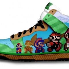 Foto 1 de 9 de la galería zapatillas-pintadas-con-personajes-de-videojuegos en Vida Extra
