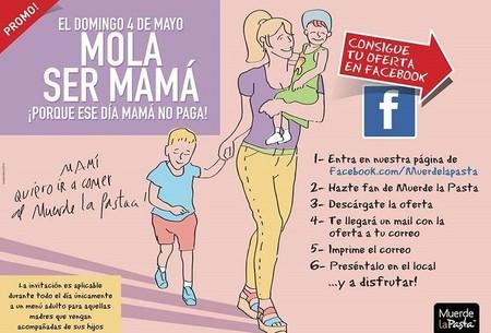 El Día de la Madre, mamá no paga en Muerde la Pasta