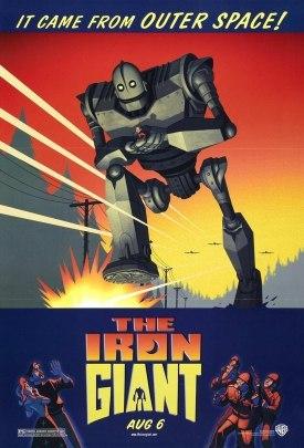 El cartel de El Gigante de Hierro (The Iron Giant)