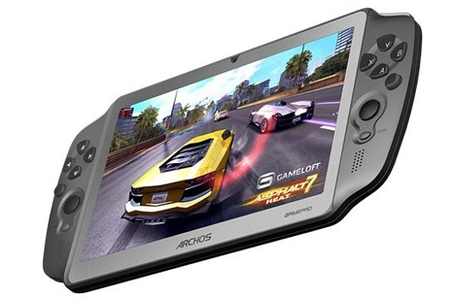 ARCHOS anuncia un nuevo tablet pensado para jugar llamado GamePad