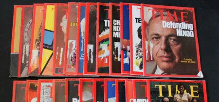 ¿Te gusta la revista TIME? Alguien ha comprado TODAS las de los últimos 100 años y para liberarlas online