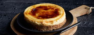 Receta de crème brûlée cheesecake: nunca lo francés y lo americano mezclaron tan bien