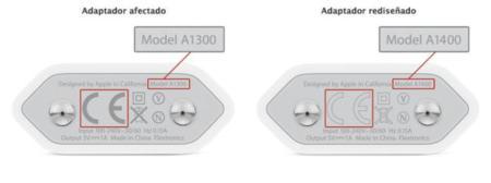 Apple inicia el cambio europeo de adaptadores de corriente