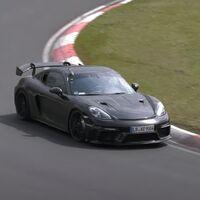 ¡Pillado! El Porsche Cayman más bestia ya está rodando en Nürburgring, suena de lujo y viene con hambre de 911