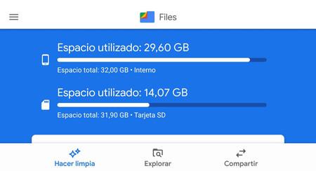 """Google Files Go se pone guapo con Google Material Theming y pierde el """"Go"""" del nombre"""
