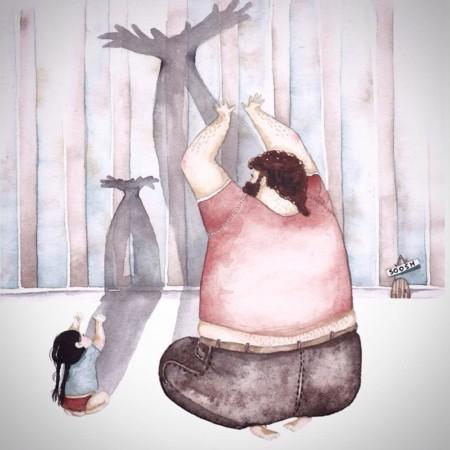 ilustraciones-padre-hija
