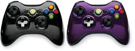 Dos nuevos pads inalámbricos de Xbox 360 para la serie Chrome