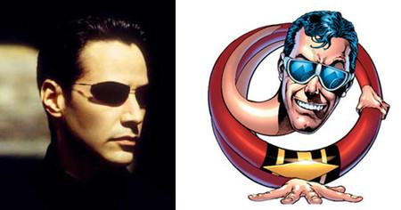 Keanu Reeves podría ser 'Plastic Man' de los Wachoski