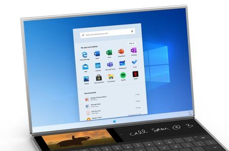 Menu Inicio Windows 10x