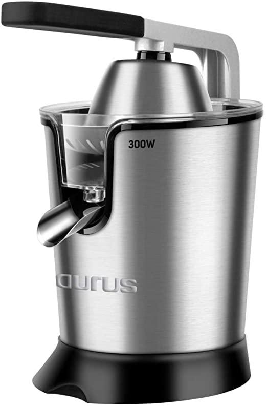 Taurus Easy Press Exprimidor Electrico, Acero Inoxidable