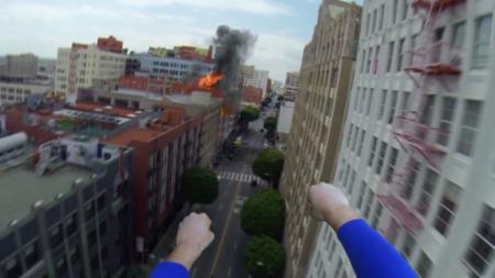 Este divertido vídeo nos muestra cómo es un día cualquiera de Superman en primera persona