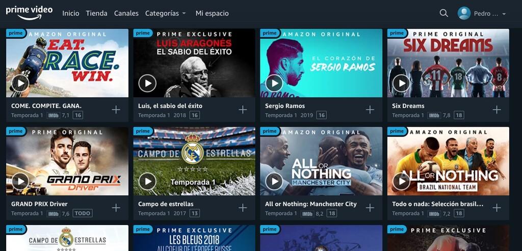 Amazon Prime Video presenta su contenido deportivo para los próximos meses: docuseries de fútbol, tenis y carreras llenarán su catálogo