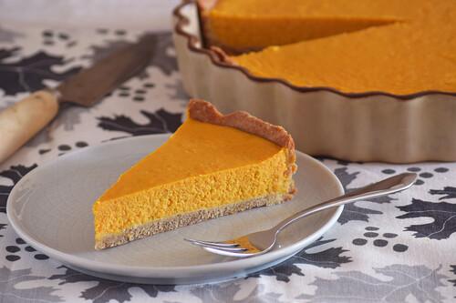 Tarta de calabaza fitness: receta de postre saludable para el otoño