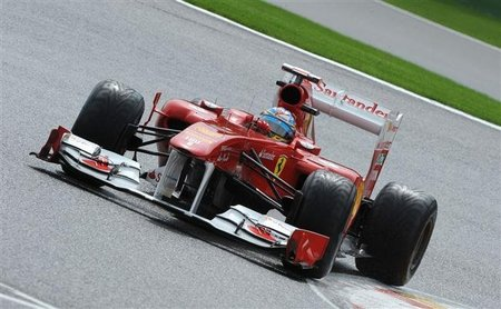 GP de Bélgica F1 2011: Fernando Alonso clasificación