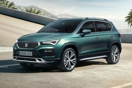 El SEAT Ateca 2021 se sacude los años con diseño y tecnología heredados del nuevo León