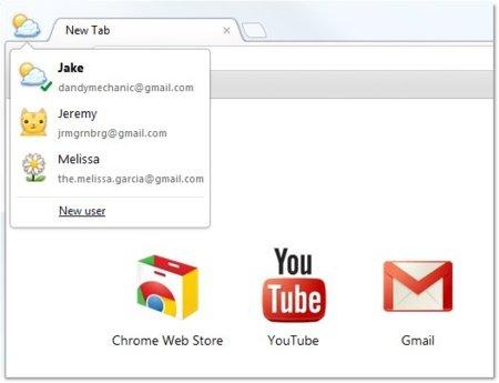 perfiles chrome google usuario navegador