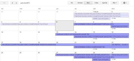 Calendario de competiciones internacional y nacional, 7 al 9 de junio