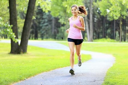 Running-girl-park